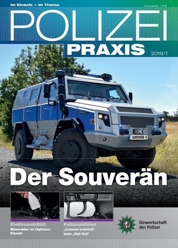 """Artikel PolizeiPraxis """"Ein starkes Team: DrugWipe und WipeAlyser"""""""